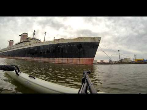 Kayak Philly - SS United States - Hobie Adventure Island