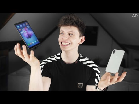 Huawei P smart vs iPhone X (Mid-range vs Premium smartphone) - Alex's DAY IN THE LIFE!