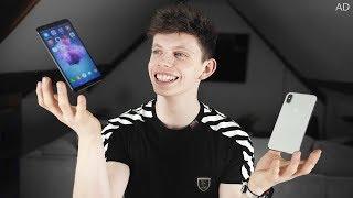 Huawei P smart vs iPhone X (Mid-range vs Premium smartphone) - Alex's DAY IN THE LIFE!