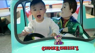 His First Time At Chuck E. Cheese's | HAUSOFCOLOR