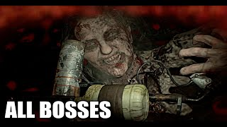 RESIDENT EVIL 7 - All Bosses (With Cutscenes) HD