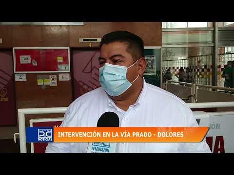 Avanzan obras para restablecer por completo el paso entre Prado y Dolores