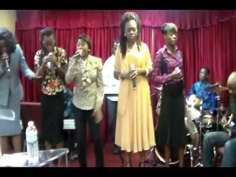 Nazareth Choir sunday worship service