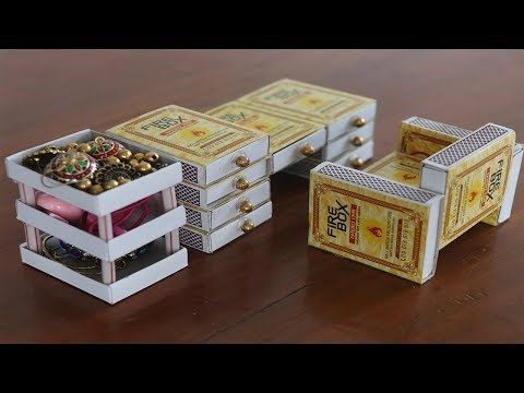 Best Out Of Waste Match Box reuse Idea/crafts Idea | Kids School project | 5 MINUTE CRAFTS VIDEOS
