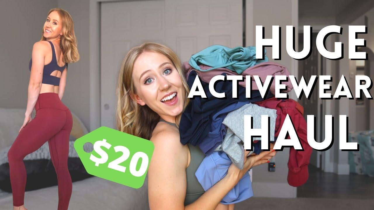 HUGE $1000+ AliExpress Activewear Haul!