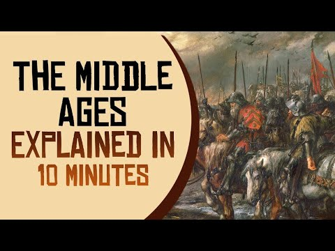 The Middle Ages Explained in 10 minutes
