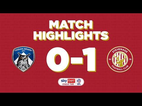 Oldham Stevenage Goals And Highlights