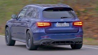 Mercedes GLC 63 S AMG 2018 Best rival of the Macan Turbo смотреть