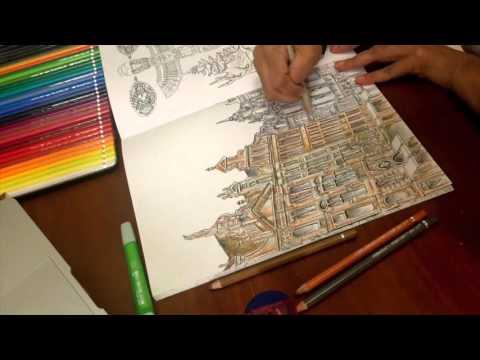 Saturday Morning Coloring The Keliling Dunia Adult Book