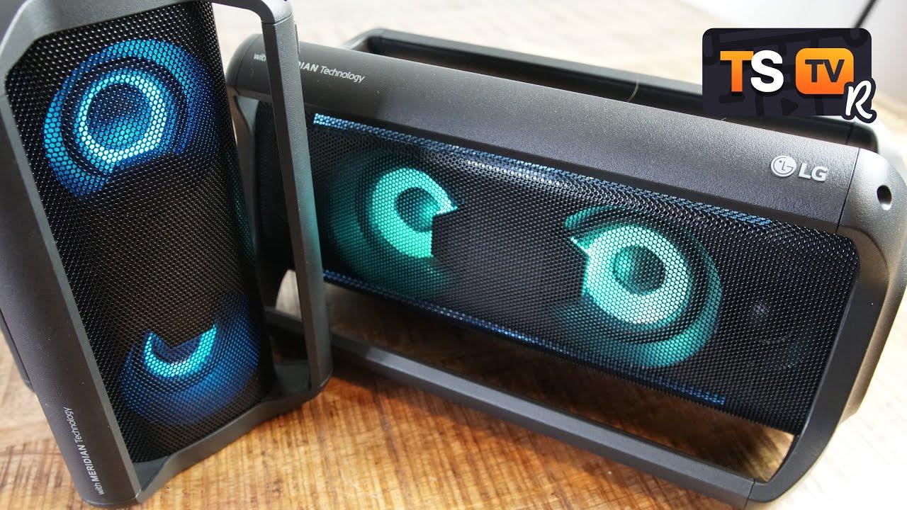lg xboom go pk7 bluetooth lautsprecher box im test gleich auf 4 ebenen hei deutsch youtube. Black Bedroom Furniture Sets. Home Design Ideas