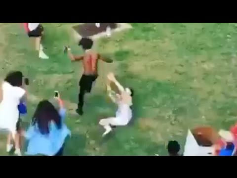Lil Uzi Vert gets chased AGAIN at the made in America festival