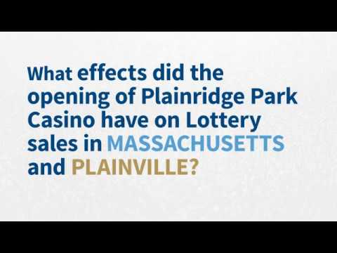 SEIGMA Plainridge Park Casino Impact On The Massachusetts Lottery