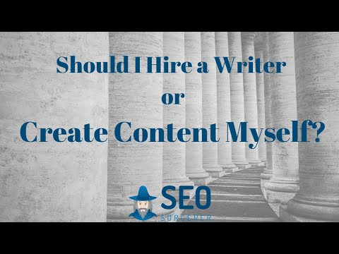 Hire a Freelance writer or create the content yourself? Find Out Now!
