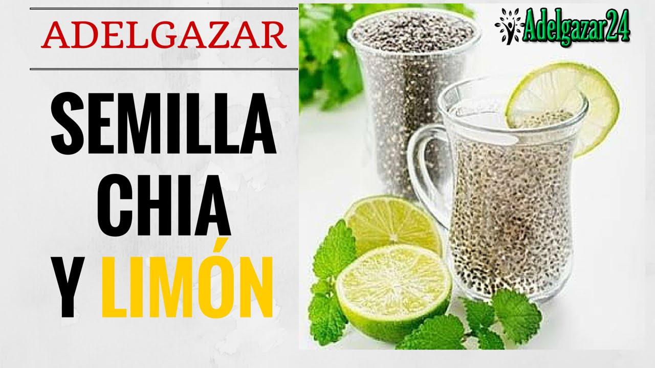 Resultado de imagen para Agua de Chia con Limón Eliminar la Grasa y Limpiar el Organismo en 3 Días!
