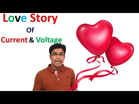 Love Story Of Current and Voltage    DC Circuit  By Nurul Alam