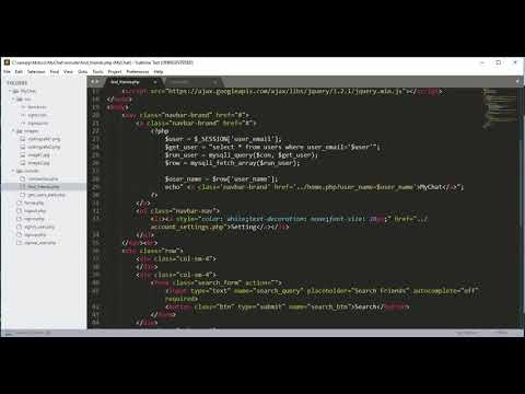 Php Chat Application Tutorial 08 - Php Find Friends Complete - Php Projects