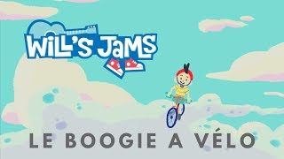 Le Boogie A Vélo - Wills Jams (French Lyric Video)