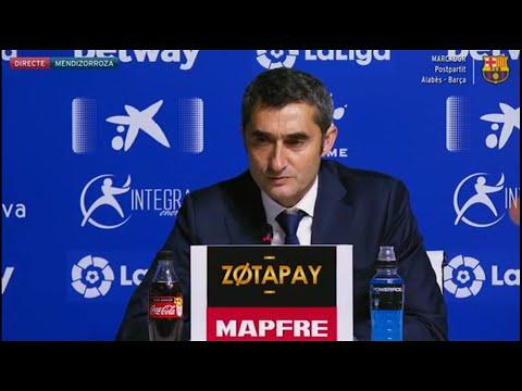 Rueda de prensa completa de Ernesto Valverde despues del Partido Barcelona vs Alaves 2-0 (24/04/2019