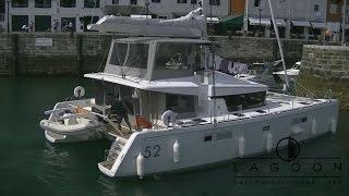 Catamaran Lagoon 52 Full-HD.