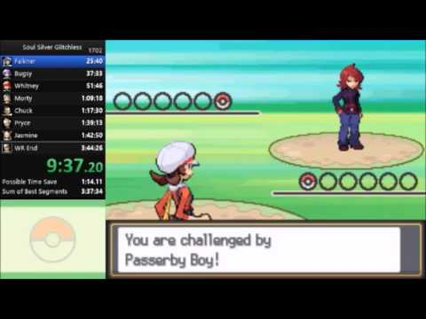 Pokemon Soul Silver Glitchless Speedrun in 3:39:08 [Current World Record]