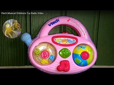 Vtech Musical Childrens Toy Radio Video