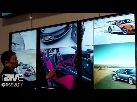 DSE 2017: Elo Shows Off 55″ 4K Display Touch Screen Video Wall