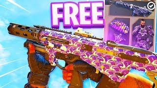 How To Get FREE BURPLE CAMO Twitch Prime Pack 1   COD BO4