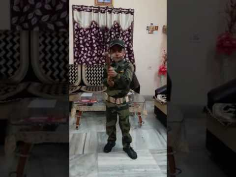 Soldier In Fancy Dress Competition Got First Prize