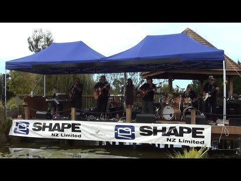 Flaxwood Festival 2014 - Johnny Campbell and The Detours