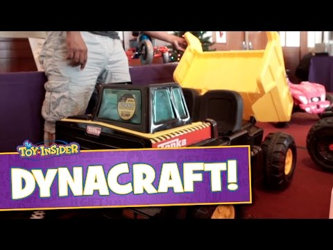 Hello Kitty 6V Coupe, Tonka Dump Truck and More from Dynacraft at Sweet Suite 2015!