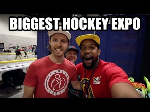 Finally made it to Let's Play Hockey Expo & The Minnesota State High School Hockey Tournament
