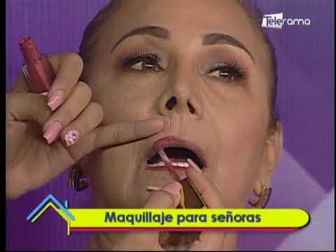 Maquillaje para señoras