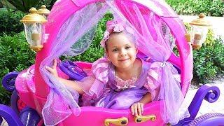 Diana quer ser princesa