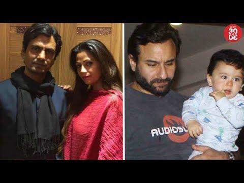 Nawazuddin Rubbishes Rumours Of Wife Spying Her | Saif Wanted To Name Taimur As Faiz