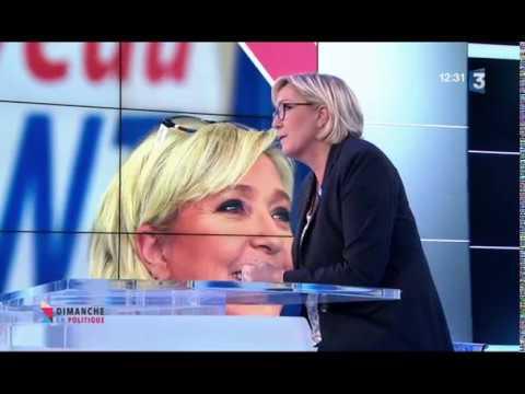Marine Le Pen est l' Invité de Dimanche en Politique le Dimanche 5 novembre 2017