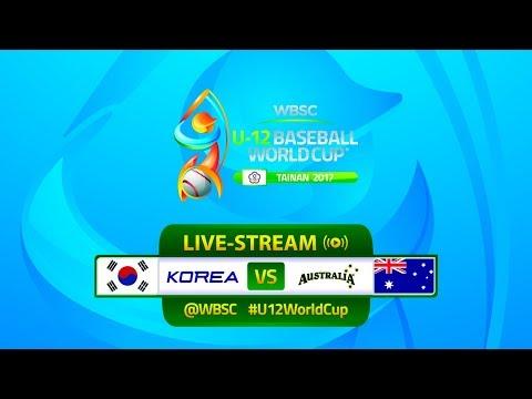 Korea v Australia - U-12 Baseball World Cup 2017