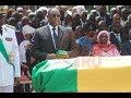 Vidéo: Revivez en images  hommages nationaux à  Bruno Diatta