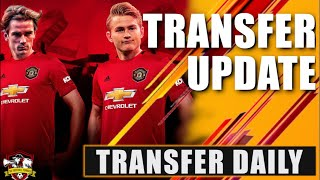 De Ligt & Griezmann to Manchester United is ON?? Transfer Daily Update