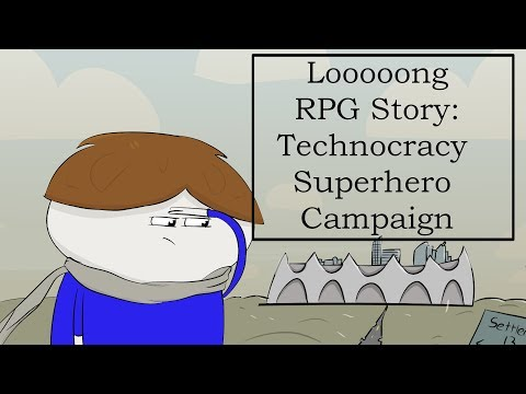 RPG Story Time! ICONS Technocracy Sci-Fi Dystopian Campaign