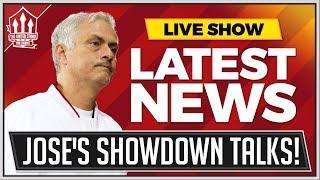 Mourinho Showdown Talks! Man Utd News LIVE