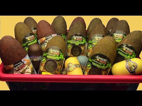 Thumbnail: What's in the box !!! Jurassic EGGS DINOSAURS BOX Dinosaurs Toys MY DINOSAUR EGGS COLLECTION ..