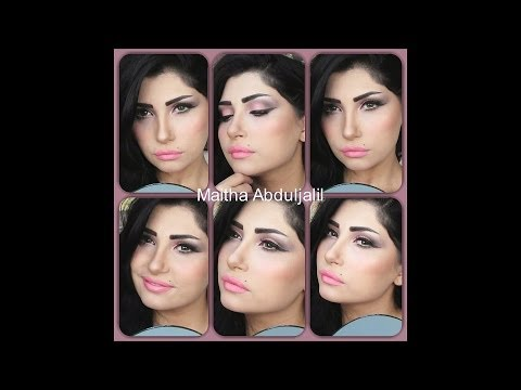 arabic bridal makeup - مكياج عروس ناعم