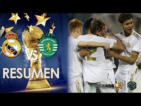Download Real Madrid vs Sporting CP Al kass International Cup 2020