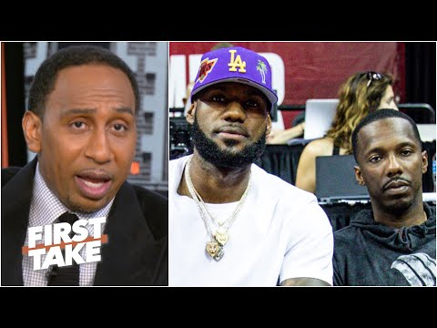 Stephen A. reacts to an anonymous agent throwing shade at Rich Paul & LeBron   First Take