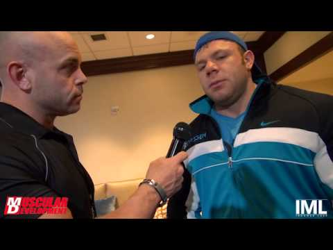 IFBB Pro Justin Compton Interview | NPC Masters Nationals 2015