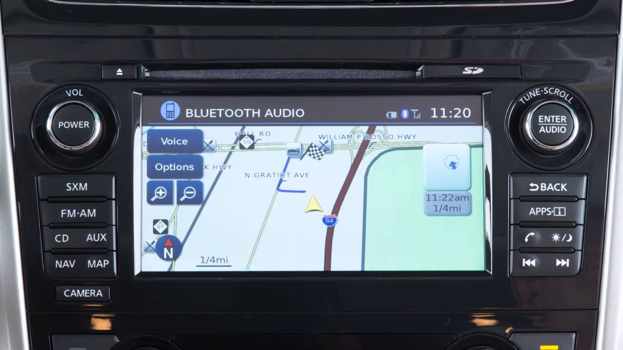 2014 nissan altima sv navigation system