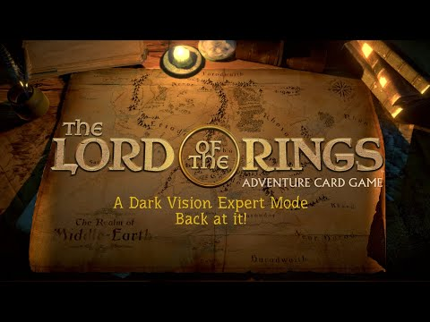 A Dark Vision of Garlob - Expert Mode - Lord of The Rings Adventure Card Game |