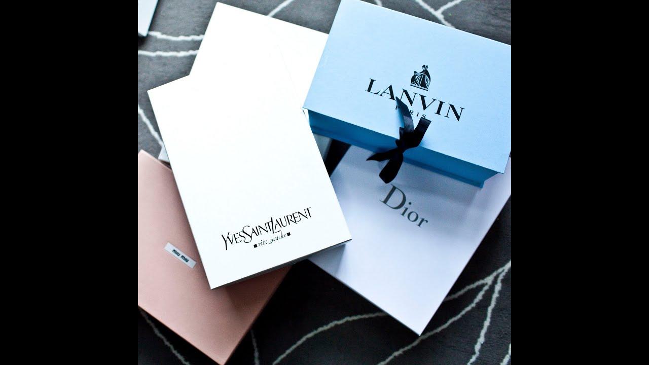 253ef5ac533e Designer Shoe Sale Haul - Dior, YSL, Lanvin, Miu Miu - YouTube