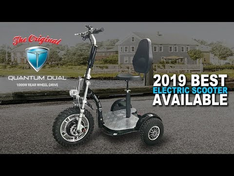3 Wheel Electric Scooters Triad 750 Electric Scooter For Adults