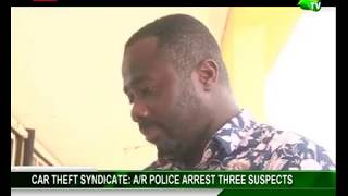 Car Theft Syndicate: A/R Police Arrest Three Suspects
